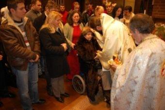 Praznicul Nasterii Domnului in Parohia Ortodoxa Română Adormirea Maicii Domnului din Stockholm, 25 decembrie 2011