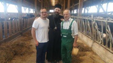 Vizita in Ineul Sfântului Sava Brancovici și al lui Slavici