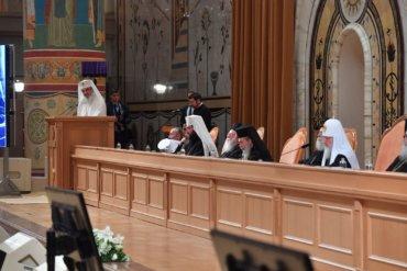 Cuvântul Preafericitului Părinte DANIEL, Patriarhul Bisericii Ortodoxe  Române la Şedinţă solemnă cu participarea Întâistătătorilor şi  delegaţiilor Bisericilor Ortodoxe Autocefale, Moscova, 2 decembrie  2017