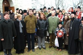 Un articol de arhivă despre vizita Regelui Mihai și a Reginei Ana la Spermezeu