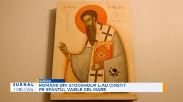 Românii din Stockholm l-au cinstit pe Sfântul Vasile cel Mare