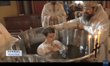 Preasfințitul Părinte Macarie a liturghisit în Copenhaga