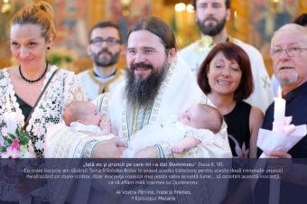 """""""Iată eu şi pruncii pe care mi i-a dat Dumnezeu"""" (Isaia 8, 18). Cu mare bucurie am săvârșit Taina Sfântului Botez în orașul suedez Göteborg …"""