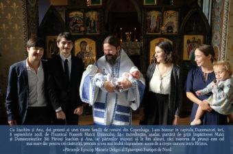Împreună cu Ioachim și Ana, doi gemeni ai unei tinere familii de români din Copenhaga…