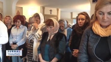 Românii din Stockholm s-au rugat împreună cu Preasfințitul Părinte Macarie