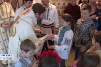 Sfinții Macarie cel Mare și Macarie Alexandrinul au fost sărbătoriți la Stockholm