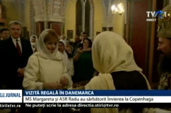 Vizită regală în Danemarca. MS Margareta şi ASR Radu au sărbătorit Învierea la Copenhaga – reportaj TVR