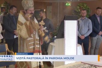 Vizită pastorală în Parohia Molde