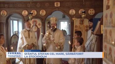 Sfântul Ștefan cel Mare, sărbătorit la Stockholm