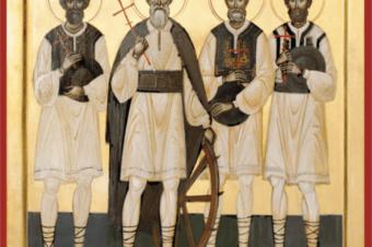 Rugăciune către Sfinții Martiri și Mărturisitori Năsăudeni: Atanasie Todoran din Bichigiu, Vasile din Mocod, Grigorie din Zagra și Vasile din Telciu, pentru împreună-mărturisire în vremuri de încercare a credinței (a Episcopului Macarie Drăgoi)