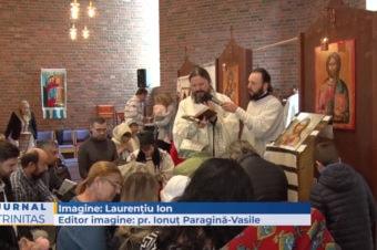 Slujire arhierească în Parohia Ortodoxă Română din Oslo