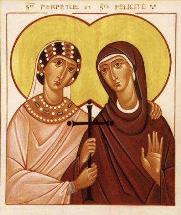 Rugăciune către Sfintele Mucenițe Perpetua și Felicitas, pentru împreună-mărturisire în vremuri de încercare a credinței (a Episcopului Macarie Drăgoi)