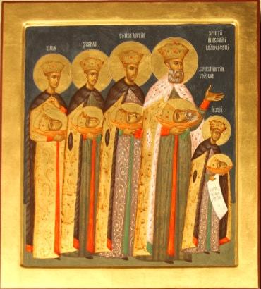 Sfinții Mucenici Brâncoveni – Macabeii românilor