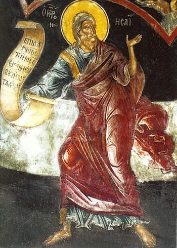 Rugăciune către Sfântul Proroc Isaia, pentru dobândirea pocăinței și trezviei duhovnicești (a Episcopului Macarie Drăgoi)