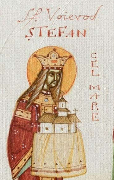 Rugăciune către Sfântul Voievod Ștefan cel Mare, ocrotitorul tinerilor din Episcopia Ortodoxă Română a Europei de Nord (a Episcopului Macarie Drăgoi)