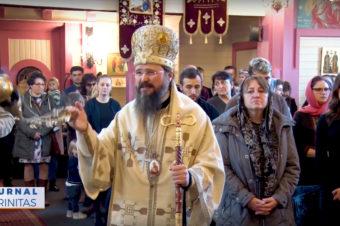 Sfântul Cuvios Dimitrie, sărbătorit în orașul Göteborg (video)