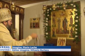 """Hramul Mănăstirii """"Sfântul Macarie Romanul"""" din Ikast (video)"""