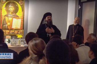 """Seară duhovnicească în Atelierul de icoane """"Teophania Ikonen"""" din Viena (video)"""