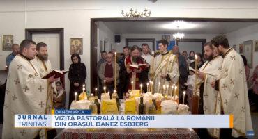 Vizită pastorală la românii din orașul danez Esbjerg (video)