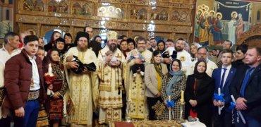 Cu binecuvântarea PS Părinte Episcop Iustin al Maramureșului și Sătmarului, duminică, 29 decembrie 2019, PS Părinte Episcop Macarie al Episcopiei Europei de Nord a săvârșit Dumnezeiasca Liturghie în biserica parohială din Libotin, jud. Maramureș …