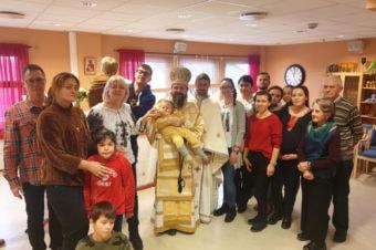 PS Părinte Episcop Macarie Drăgoi despre tămăduirea fetiței Ana Sofia în Molde, Norvegia, 14 decembrie 2019