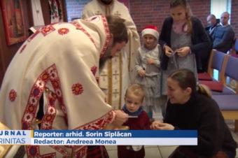 Românii din Oslo au primit binecuvântare arhierească (video)