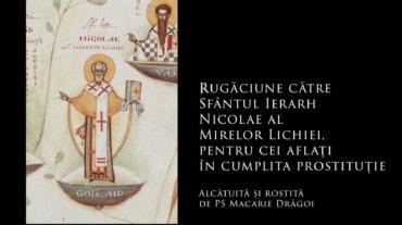 Rugăciune către Sfântul Ierarh Nicolae pentru cei aflați în cumplita prostituție