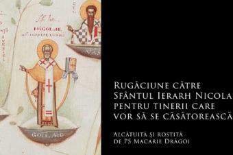 Rugăciune către Sfântul Ierarh Nicolae, pentru tinerii care vor să se căsătorească