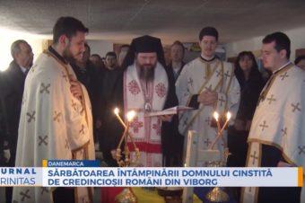 Sărbătoarea Întâmpinării Domnului cinstită de credincioșii români din Viborg