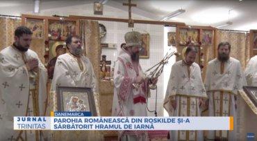 Parohia Românească din Roskilde și-a sărbătorit hramul de iarnă