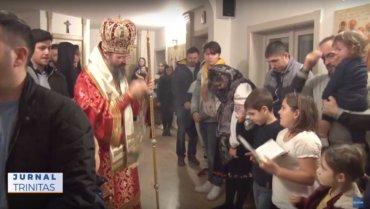 Liturghia Darurilor înainte sfințite, în Paraclisul Centrului Episcopal din Stockholm
