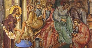 """Episcopul Macarie: """"Adu-ți aminte de aceste cuvinte ale Celui care a luat chip de rob ca să-ți spele ție picioarele!"""" Cuvântul Preasfințitului Părinte Episcop Macarie Drăgoi rostit în Paraclisul Centrului Episcopal din Stockholm, la Denia din Sfânta și Marea zi de Joi din Săptămâna Sfintelor Pătimiri, 16 aprilie 2020"""