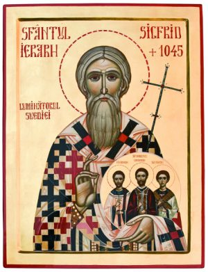 Darul românilor pentru Sfântul Sigfrid, Luminătorul Suediei