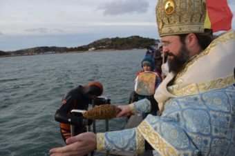 Praznicul Botezului Domnului la Marea Nordului