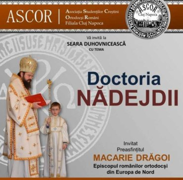 """Doctoria nădejdii"" – Cluj-Napoca (31 martie 2016)"