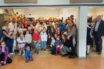 Preasfințitul Părinte Episcop Macarie Drăgoi la românii din orașul norvegian Ålesund în Duminica de după Înălțarea Sfintei Cruci
