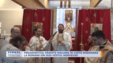 Preasfințitul Părinte Macarie în vizită misionară la românii din sud-vestul Norvegiei