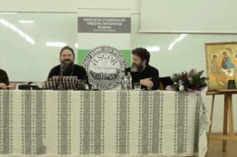 """Conferința """"Discernământul: salvarea ortodocșilor în vremurile din urmă"""" susținută de Preasfințitul Părinte Episcop Macarie al Europei de Nord la Cluj, joi, 29 martie 2018"""