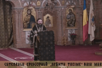 "The sermon held after the Holy Liturgy and the lecture of His Grace Bishop Macarie of Northern Europe at the conference on the theme ""The Suffering or the Travail Together with Christ"", March 28, 2018, in the Holy Trinity Diocesan Cathedral in Baia Mare, Romania"