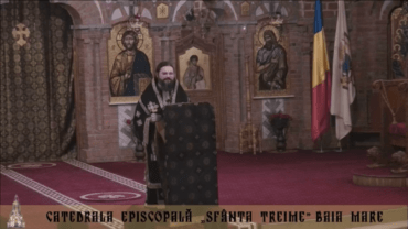 """The sermon held after the Holy Liturgy and the lecture of His Grace Bishop Macarie of Northern Europe at the conference on the theme """"The Suffering or the Travail Together with Christ"""", March 28, 2018, in the Holy Trinity Diocesan Cathedral in Baia Mare, Romania"""