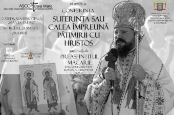 His Grace Father Macarie, the Bishop of Northern Europe, will sustain a series conferences March 27, 28 and 29 in Sibiu, Baia Mare and Cluj-Napoca