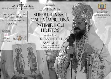 Preasfințitul Părinte Macarie, Episcopul Europei de Nord, va conferenția în zilele de 27, 28 și 29 martie la Sibiu, Baia-Mare și Cluj Napoca