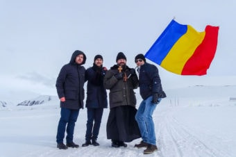 "Bishop Macarie Drăgoi in Eucharistic ministry in the archipelago of the Arctic Ocean: ""We pray to Him Who is everywhere to draw near the distances that separate us and melt the ice that has enveloped our hearts!"""