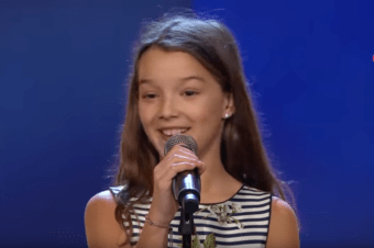 "I found out like all the Romanians in the Swedish diaspora, of the success that Eva Jumatate, a little girl in our community, had in the TV show ""FÖLJ TALANG"""