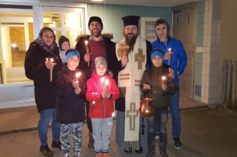 In these days full of the graceful and cleansing grace of the Epiphany, I caroled the Romanian families from Goteborg to Stockholm …