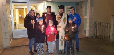 În aceste zile pline de harul sfințitor și curățitor al Bobotezei, am colindat familiile de români dinspre Goteborg spre Stockholm …
