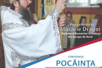 """PS Macarie Drăgoi va susține conferința """"Pocăința, singura cale spre adevăr"""", în cadrul Facultății de Litere din Brașov"""