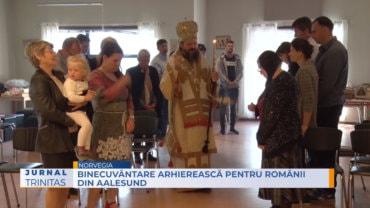 Binecuvântare arhierească pentru românii din Aalesund