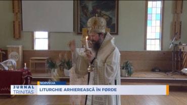 Liturghie arhierească în Førde