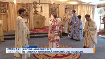 Slujire arhierească în Parohia Ortodoxă Română din Roskilde